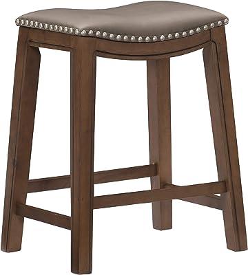 Homelegance Counter Height Bar Stool 25 Sh Gray Furniture Decor