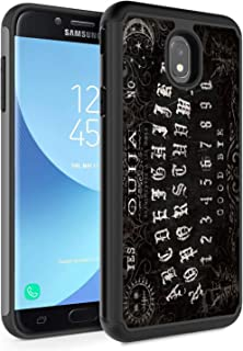 Galaxy J7 2018 Case,J7 Refine/J7 Star/J7 Aura/J7 Aero/J7 Top/J7 Crown Case, Rossy Hybrid TPU Plastic Dual Layer Armor Defender Phone Case for Samsung Galaxy J7 2018,Ouija Board