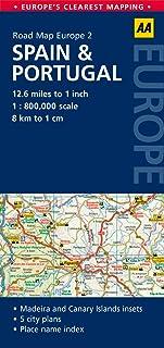 2. Spain & Portugal: AA Road Map Europe