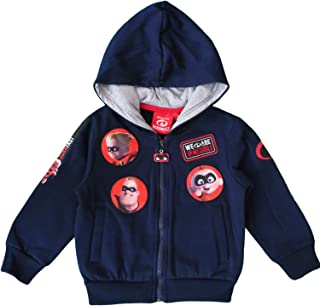 INCREDIBLES The 2 Disney Kids Hooded Sweatshirt (8 Years, Navy Blue)