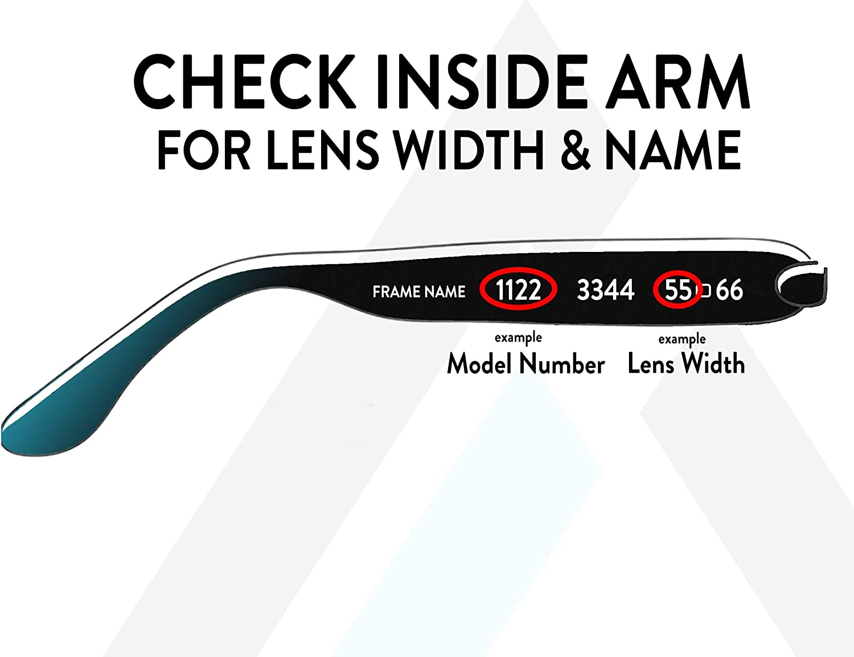 By APEX Lenses Polarized PRO Replacement Lenses for Von Zipper Morse Sunglasses