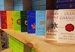 The Outlander Series 8-Book Paperback Set Diana Gabaldon: Outlander, Dragonfly in Amber, Voyager, Drums of Autumn, The Fiery Cross, A Breath of Snow and Ashes, An Echo in the Bone
