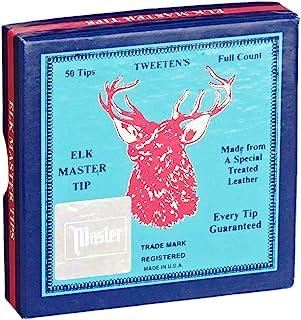 Tweeten Elk Master - Puntas de Billar (50 Unidades, 12 mm, 13 mm y 14 mm)