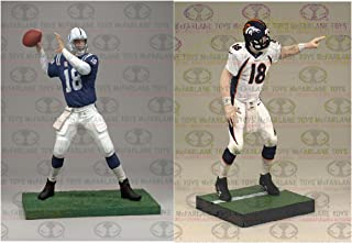 NFL Denver Broncos - Indianapolis Colts McFarlane 2012 Peyton Manning Collector?s Edition Action Figure 2-Pack
