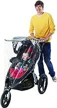 Nuby Jogging Stroller Weather Shield, Clear