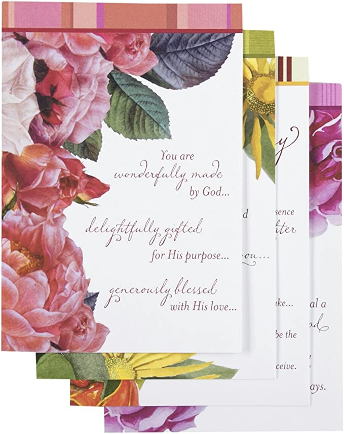 Birthday - Beautiful Sentiments - 12 Boxed Cards & Envelopes