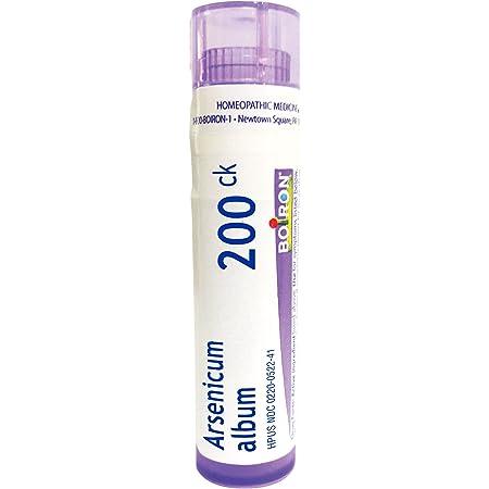 Boiron Arsenicum Album 200CK, 80 Pellets, Homeopathic Medicine for Food Poisoning