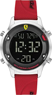 Scuderia Ferrari Men's Analogue Quartz Watch with Silicone Strap 0830757