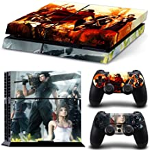 EBTY-Dreams Inc. - Sony Playstation 4 Original (PS4 Original) - Final Fantasy 7 VII FF7 FFVII Dirge of Cerebrus Vinyl Skin Sticker Decal Protector