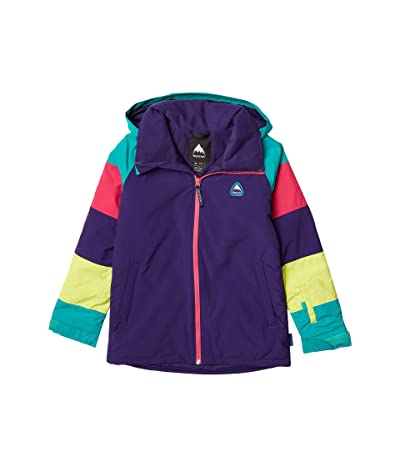 Burton Kids Girls Hart Jacket (Little Kids/Big Kids) (Parachute Purple/Rainbow) Girl