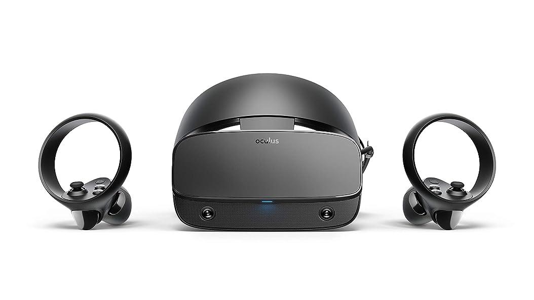 説明する擬人化ニュースOculus Rift S PC接続専用 高性能VRヘッドセット&コントローラー