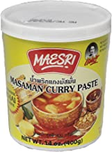 Maesri Masaman Curry Paste 14oz