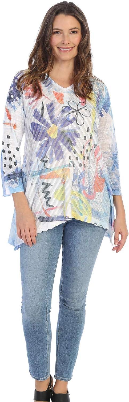 Jess & Jane Women's Lulu Wavelet Tunic Top