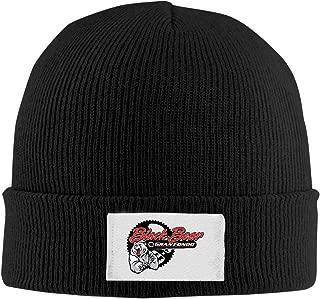 Creamfly Adult Black Bear Logo Wool Watch Cap Black