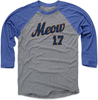 500 LEVEL Keith Hernandez Shirt - Vintage New York Baseball Raglan Tee - Keith Hernandez Meow Script