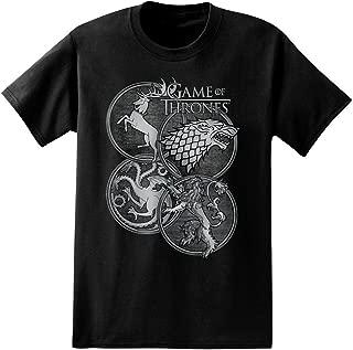 House Symbols Adult T-Shirt