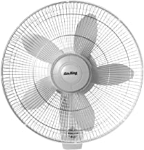 Air King 9018 Commercial Grade Oscillating Wall Mount Fan, 18-Inch (Renewed)