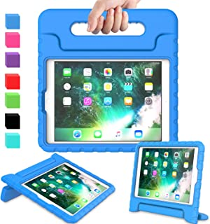 AVAWO Kids Case for iPad 9.7 2017/2018 & iPad Air 2 - Light Weight Shock Proof Convertible Handle Stand Friendly Kids Case...
