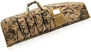 Gun-Cases Soft-Rifle-Case AR Tactical Gun-Bag - 38/42 Inch Rifle Bag for Hunting Shooting Range Sports Storage and Transport