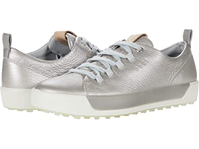 ECCO Golf Soft II Hydromax(r) (Alusilver Cow Leather) Women