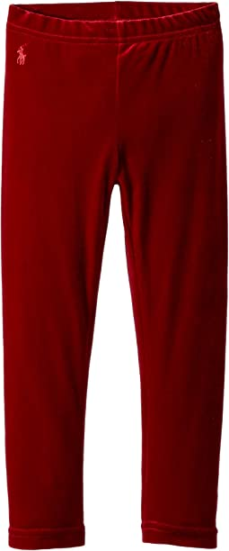 Polo Ralph Lauren Kids - Stretch Velvet Leggings (Toddler)