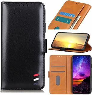 Dalchen Compatible for Case Huawei Honor X10 5G, 2 Card Slots 1 Cash Pockets Wallet Cover, Leather Flip Magnetic Button Ki...