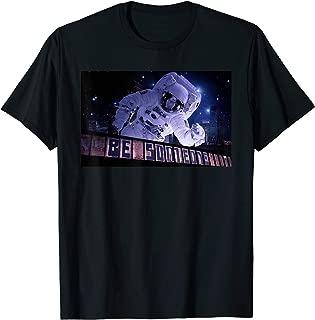Mens Houston Astronaut Space City Be Someone Rocket T-Shirt