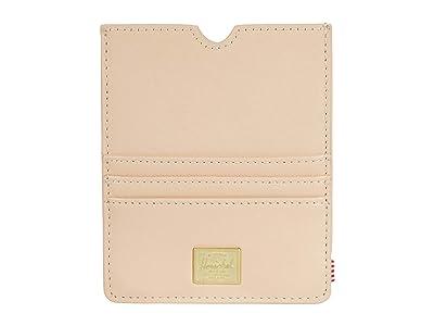 Herschel Supply Co. Eugene Leather RFID (Natural) Wallet