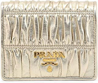 Prada Women's 1MV204_2B25_GAUFRE Wallet Yellow