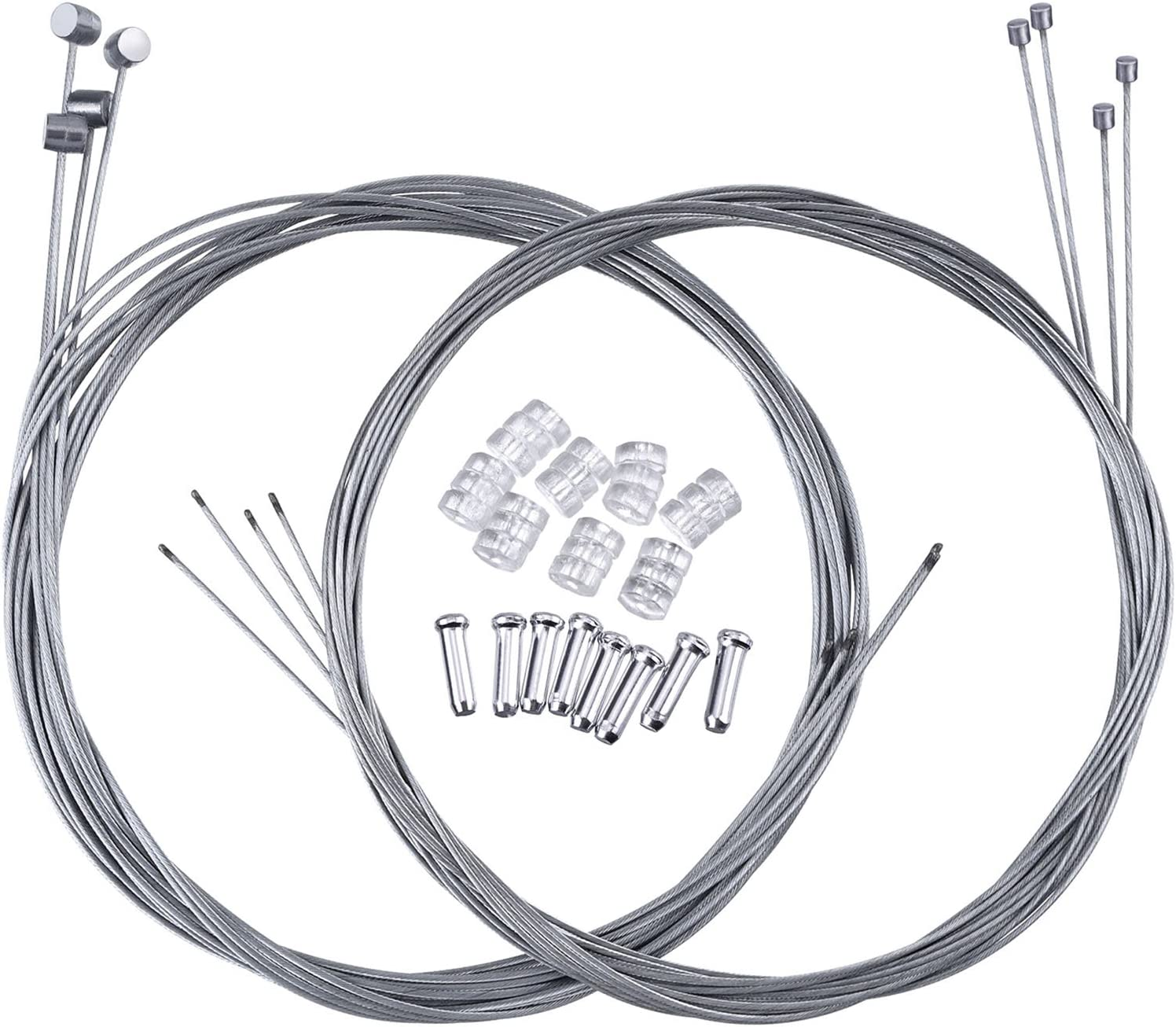 Hotop 2 Year-end gift Set Excellence Mountain Bike Gear and Cable Wire Brake