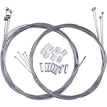MTB BMX Shimano Front /& Rear Brake Gear CABLE Barrel End Inner Wire Bikes Cycles