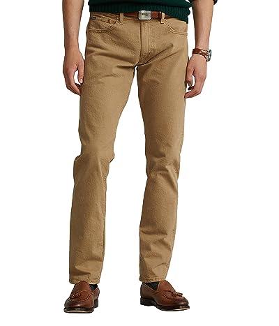 Polo Ralph Lauren Varick Slim Straight Jean in HDN Khaki Stretch