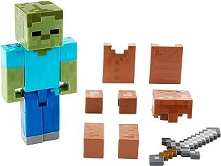 Mattel Minecraft Zombie in Armor Basic Figure