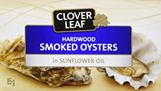 Clover Leaf Smoked Oysters, 24 Count