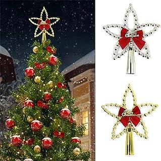 696 4 X Gisela Graham Gold cadre métallique Étoiles Sapin De Noël Suspendu Décoration