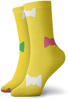 Calza lunga uomo mod ANT7802 Gift box bow tie /& sock Idea regalo Papillon