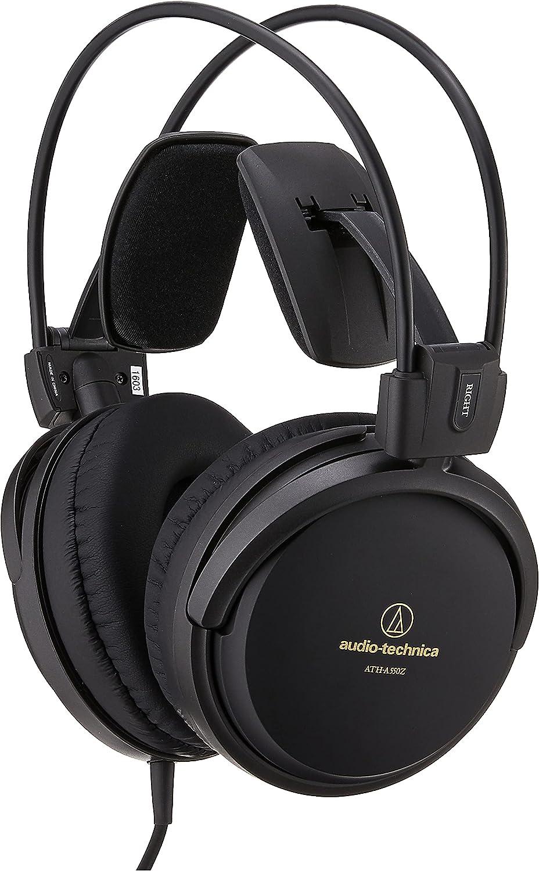 Audio-Technica ATH-A550Z - Auriculares de alta fidelidad cerrados, color negro