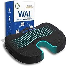 RFG Memory Foam Seat Cushion for Office Chair - Comfortable Desk Chair Cushion - Car Seat Cushion - Coccyx Orthopedic Pad ...