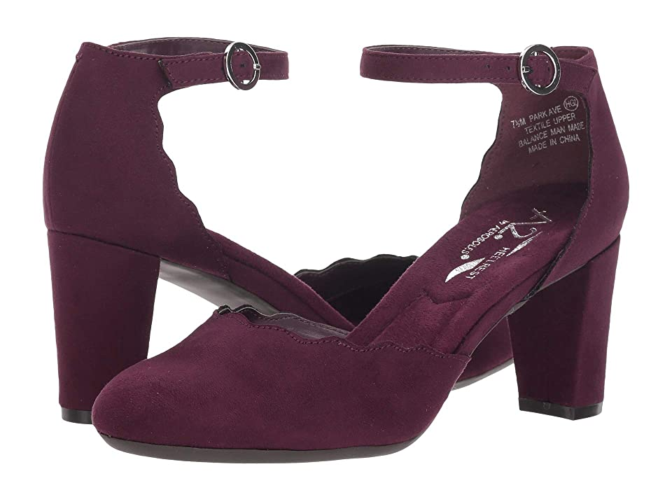 A2 by Aerosoles Park Ave (Purple Fabric) High Heels