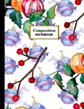 Composition Notebook: College Ruled Lined Notebook Journal For Creative Writing, Notes Taking, Diary Journaling. Large Bla...