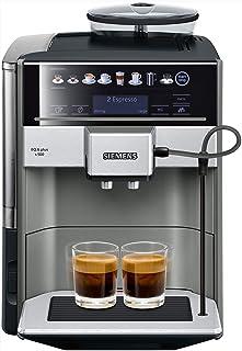 Siemens EQ.6 Plus s500 TE655203RW – Machine à café automatique avec écran sensitif et texte clair – 12 recettes de café et...