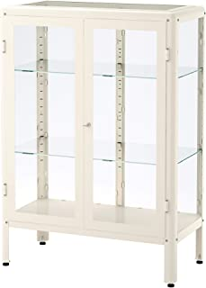IKEA Fabrikör Glass-Door Cabinet, White