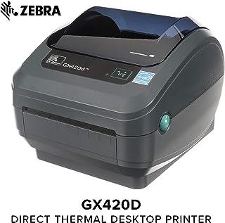 Zebra GX420D Thermal Label Barcode Printer GX42-202410-000 (Renewed)