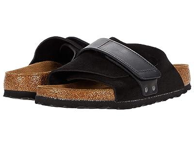 Birkenstock Kyoto (Black Suede) Shoes