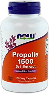 Now Foods Propolis 1500 mg 100 capsules (Pack of 4)