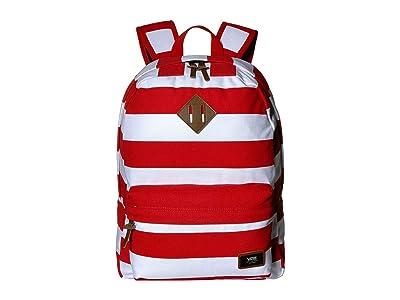 Vans Old Skool Plus Backpack (Racing Red Stripe) Backpack Bags