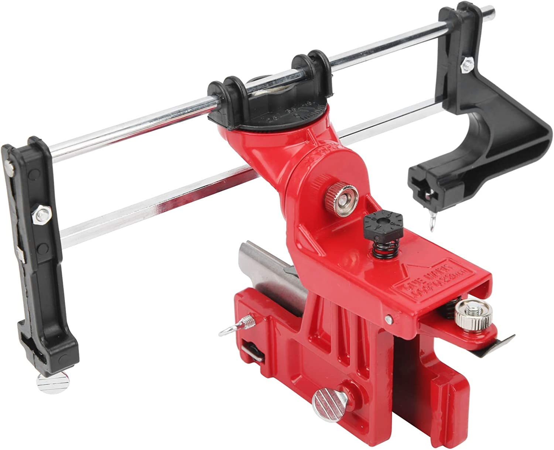 Herramienta de pulir de cadena, afilador de cadena de alta calidad confiable ajustable práctico para herramienta de pulido para afilador