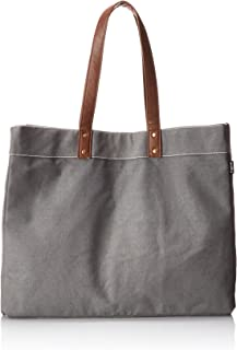 Maika Cosmetic Bag Carryall Tote Waxed Ash