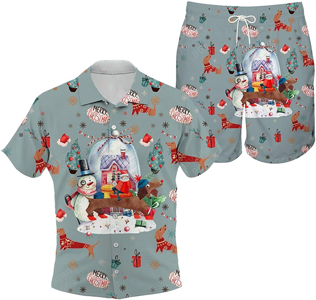 Dachshund Max 67% OFF Hawaiian Shirt On Good List Sales of SALE items from new works and Santa's