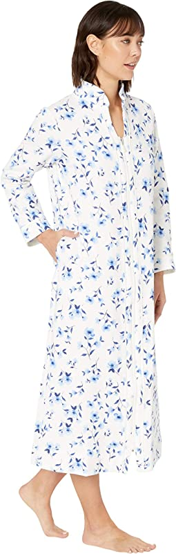 White/Blue Floral